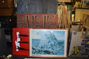 Sale 8410T - Lot 2049 - Artworks (6) and a Print
