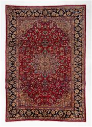 Sale 8740C - Lot 61 - A Persian Kashan From Isfahan Region 100% Wool Pile On Cotton Foundation, 365 x 255cm