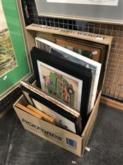 Sale 8784 - Lot 2095 - Group of Assorted Decorative Prints, Original Works on Paper and Engravings -