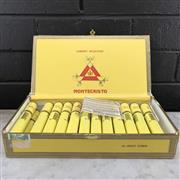 Sale 8996W - Lot 711 - Montecristo Petit Tubos Cuban Cigars - box of 25, removed from box stamped March 2016