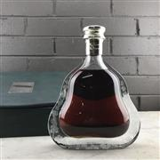 Sale 9079 - Lot 523 - Hennessy Richard Hennessy Cognac - in Baccarat Crystal decanter with stopper, in leather presentation box with slip cover