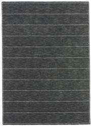 Sale 8651C - Lot 21 - Colorscope Collection; Wool And Viscose - Charcoal Lines Handloomed Rug, Origin: India, Size: 160 x 230cm, RRP: $1299