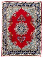 Sale 8800C - Lot 13 - A Persian Kerman Hand Knotted Wool Pile Floor Rug, 250 x 348cm