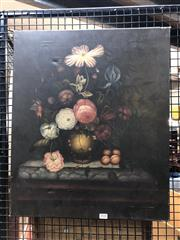 Sale 8856 - Lot 2030 - Artist Unknown Dutch Style Still Lifeoil on canvas, 61 x 51cm, unsigned