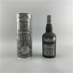 Sale 9165 - Lot 728 - The Lost Distillery Company Stratheden - Classic Selection 10-12YO Lowland Blended Malt Scotch Whisky - 43% ABV, 700ml in canister...