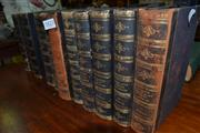 Sale 8013 - Lot 1822 - 12 Volumes The Works of William Makepeace Thackeray, pub. Smith, Elder & Co., London, different years