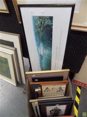 Sale 8561 - Lot 2072 - Collection of Various Paintings, Prints, Textile Works and Ceramic (framed/various sizes)