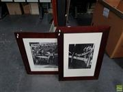 Sale 8609 - Lot 2023 - Two Early Reproduction Photos