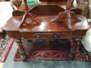 Sale 8740 - Lot 1297 - Victorian Dressing Table with Single Drawer