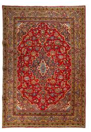 Sale 8780C - Lot 252 - A Persian Najafabad From Isfahan Region 100% Wool Pile On Cotton Foundation, 292 x 195cm