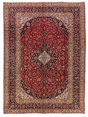 Sale 8800C - Lot 15 - A Persian Kashan From Isfahan Region 100% Wool Pile On Cotton Foundation, 248 x 340cm