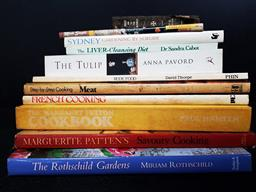 Sale 9254 - Lot 2003 - 2 Boxes of Books on Cooking & Gardening