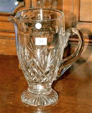 Sale 8015A - Lot 51 - A large & tall English Stuart hand cut lead crystal jug