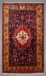Sale 8545C - Lot 9 - Persian Kashan 218cm x 130cm