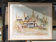 Sale 8759 - Lot 2081 - D. Watson-Zanduo - Cottage, Watercolour -