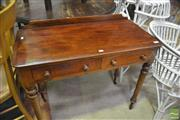 Sale 8326 - Lot 1753 - Victorian Mahogany Side Table
