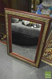 Sale 8380 - Lot 1048 - Pair of Timber Framed Mirrors