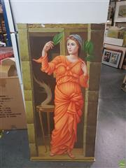Sale 8595 - Lot 2091 - The Maiden - Oil On Canvas