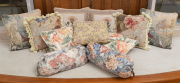 Sale 8677B - Lot 610 - A quantity of scatter cushions in various tapestry designs, (11)