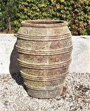 Sale 8972H - Lot 48 - A large stoneware urn Height 95cm