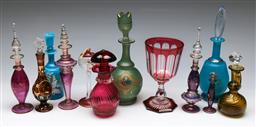 Sale 9153 - Lot 9 - Collection of Glass Perfume Bottles, Vases etc