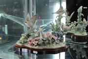 Sale 8100 - Lot 4 - Lladro Figure Group Spring Birds