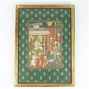 Sale 8399 - Lot 57 - Indian Watercolour Mughal Prince