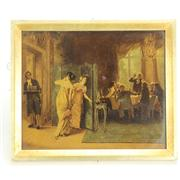 Sale 8393B - Lot 76 - Reverse Print on Glass on a Max Volkhart