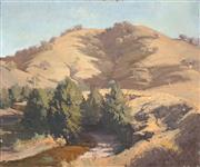 Sale 8518A - Lot 56 - Robert Simpson (1955 - ) - Summer on the Turon 38 x 45.8cm