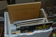 Sale 8530 - Lot 2182 - Box of Sundries incl. Books, Horse, Record, etc