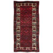 Sale 8860C - Lot 34 - A Persian Nomadic Hamadan Rug, in Handspun Wool 282x148cm