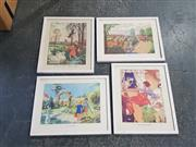 Sale 9011 - Lot 2075 - 4 Childrens Prints incl Wee Willie Winkie