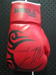 Sale 8125 - Lot 86 - Mike Tyson - signed glove