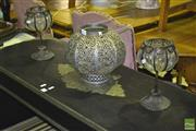 Sale 8227 - Lot 1052 - Moroccan Style Light Holder and Two Others