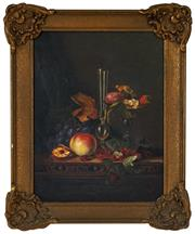 Sale 8518A - Lot 6 - L. Keys (XX) - Still Life 50 x 36.5cm