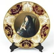 Sale 8562R - Lot 93 - Royal Vienna Handpainted Plate A Dream (D: 25cm)