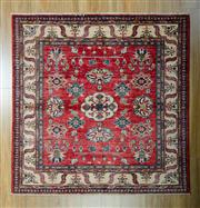 Sale 8665C - Lot 76 - Afghan Super Kazak 146cm x 144cm