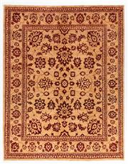 Sale 8780C - Lot 257 - An Afghan Chobi Naturally Dyed In Hand Spun Wool, Very Suitable To Australian Interiors, 257 x 203cm