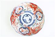 Sale 8827D - Lot 39 - An Early Imari Pattern Plate ( Dia 22cm)