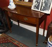 Sale 7962B - Lot 8 - Beard Watson Marquetry and Bow fronted Serving Table