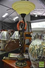 Sale 8326 - Lot 1280 - Classical Style Lady Lamp