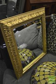 Sale 8380 - Lot 1049 - Pair of Gilt Framed Mirrors