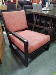 Sale 8637 - Lot 1084 - Modern Timber Framed Armchair