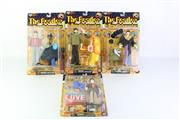 Sale 8783 - Lot 18 - Group Of Vintage Beatles Figures (4)