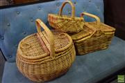 Sale 8550 - Lot 1219 - Collection of Baskets