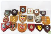 Sale 8563 - Lot 202 - Large Collection Of Plaques And Indian Presentation Plate