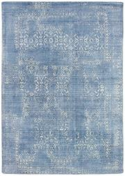 Sale 8651C - Lot 29 - Colorscope Collection; Viscose Erased Classic - Light Navy Rug, Origin: India, Size: 160 x 230cm, RRP: $899