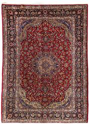 Sale 8715C - Lot 10 - A Persian Kashan From Isfahan Region, 100% Wool Pile On Cotton Foundation, 400 x 285cm