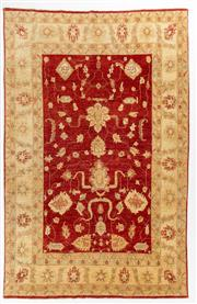Sale 8740C - Lot 71 - An Afghan Chobi, Naturally Dyed In Hand Spun Wool, Very Suitable To Australian Interiors, 314 x 202cm