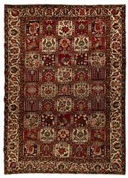 Sale 8800C - Lot 21 - A Persian Bakhtiyari And Classic Garden Design, 100% Wool On Cotton, Classed As Prerevolution Weave, 313 x 225cm